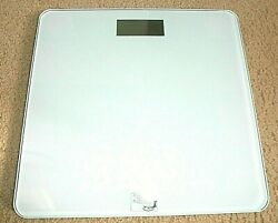 NEW Scale Digital Glass Bathroom Floor Weight loss REAL APPEAL $19.95