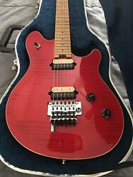 1999 Peavey Red Flame Wolfgang Standard Arch Top $2595.00