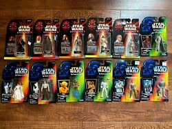 12 Star Wars EPISODE 1 Commtech Lot amp; The Power of Force Figures NEW $59.99