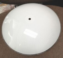 NEW Vintage 13quot; ROUND Glass CEILING Light Fixture SHADE 60058 1 for $27 2 $44 $14.00