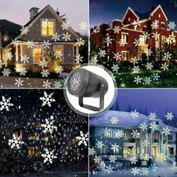Christmas LED Laser Projector Light Outdoor Holiday Party Snowflake Lamp Gift $23.99