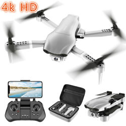 Professional F3 Drones GPS 5G WiFi FPV with 4K 1080P HD Wide Angle Camera Foldab $94.99