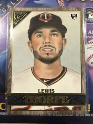 2020 Topps Gallery LEWIS THORPE RC WOOD PARALLEL #52 Twins $2.00