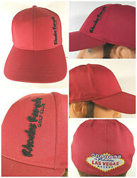 Rhodes Ranch Golf Club Las Vegas Baseball Style Hat Cap Red Large $15.95