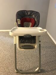 Graco Table Fit Finley High Chair Red brown $25.00