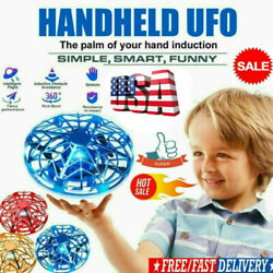 Mini Drone Quad Induction Levitation UFO Flying Toy Hand controlled Kids Gifts $16.39