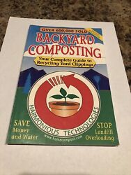 Backyard Composting : Your Complete Guide to Recycling Yard Clippings by John W. $3.80