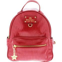 Juicy Couture Womens Ever After Red Patent Mini Backpack Purse Small BHFO 6089 $29.99