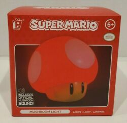 Nintendo SUPER MARIO Bros Mushroom 3D Figure LIGHT 002 Paladone Icons New in Box $19.95