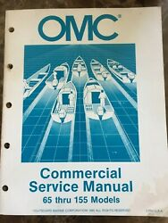 OMC Commercial Service Manual 65 thru 155 Models