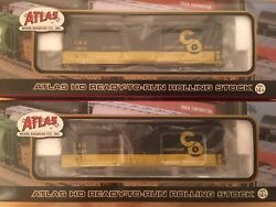 HO Atlas Chesapeake amp; Ohio USRA 40' Steel Rebuilt Boxcar BRAND NEW Camp;O Bamp;O NYC $25.00