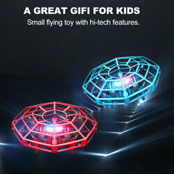 Mini Drone UFO Infrared Sensor Induction Aircraft Flying Toy for Kids 2PC $25.63