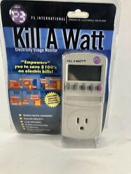 P3 International MODEL P4400 Kill A Watt Electricity Usage Monitor $32.50