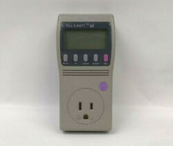 P3 Kill A Watt EZ Power Usage Voltage Meter Monitor P4460.01 TESTED $19.99