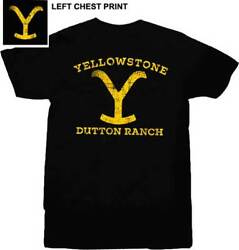 Yellowstone TV Show Dutton Ranch Licensed T Shirt $21.75