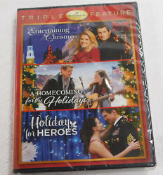 Entertaining Christmas Homecoming for Holidays Holiday Heroes DVD NEW Hallmark $21.88