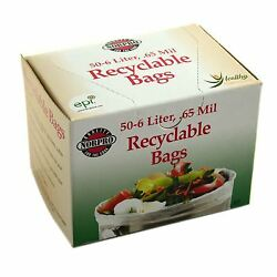 Recyclable Compost Bags 50 Pk. 85 $13.28