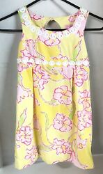 LILLY PULITZER Embroidered Girls Sleeveless Dress $24.75