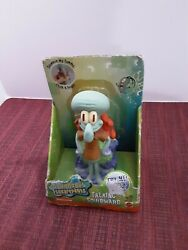2000 MATTEL NICKELODEON SPONGEBOB SQUAREPANTS 5.5quot; TALL TALKING SQUIDWARD $19.99