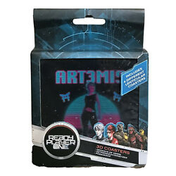 Ready Player One 3D Lenticular Coasters by Paladone Set of 4 NEW $16.97
