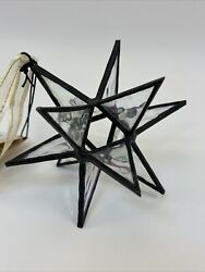 J Devlin ORN 250 Stained Glass Moravian Star Christmas Ornament or Sun Catcher 4 $29.50