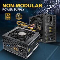 700W Computer Gaming Power Supply GP Series 80 Plus Gold Certified PSU Segotep $70.90
