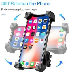 Bicycle Phone Holder For iPhone Samsung Motorcycle Mobile Cellphone Holder stand $13.06