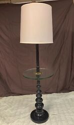 Floor Lamp with Table $85.00