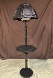 Floor Lamp with Table $70.00