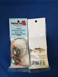saltwater fishing live bait rig bulk lot. stainless rigs wholesale 1 1 2oz $30.50