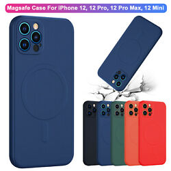 Mag Safe Magnetic Shockproof iPhone Case For iPhone 12Pro Max 12Mini 11Pro Cover $11.68