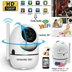 Security Camera HD 1080P WiFi IP In Outdoor Home Monitor Night Vision Waterproof $22.99