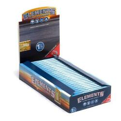 ELEMENTS 25 Pack 1 Box Elements 1 1 4 1.25 Rolling Paper Ultra Thin Rice $21.50