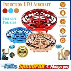 Mini Drone Quad Induction Levitation UFO Flying Toy Hand controlled Kids Gift EM $12.99