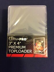 Ultra Pro Premium Toploader Gaming Cards Trading Cards $15.00