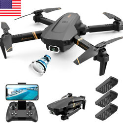 2020 NEW 4k HD Drone Wide Angle Camera 1080P WiFi fpv Drones Camera ✅🔥 $65.33