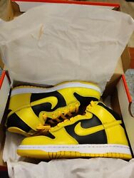Nike Dunk High Varsity Maize Size 7 Mens next day shipping $215.00