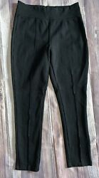 Kendall Kylie Black Pants Leggings Stretch Rayon Spandex M