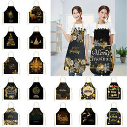 Apron Adult Xmas Aprons Funny BBQ Christmas Gifts Cooking Kitchen Novelty $7.89