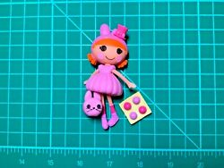 Lalaloopsy Mini Bouncer Fluffy Tail Doll Pet amp; Accessories Complete Set Lot L824 $18.99
