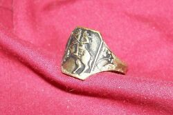 Old Kids Cowboy Western Novelty Boys Ring for Toy Cap Gun Collector Collectible $7.99