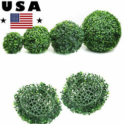 Artificial Plant Ball Topiary Tree Boxwood Wedding Party Home Outdoor Decor USA $6.66
