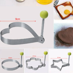 1*Fried Egg Shaper Mould Stainless Steel For Making Pancakesfried Eggs Kitchen C $11.29