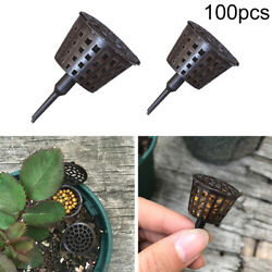 Bonsai Garden Tool Fertilizer Baskets Box Supplies Cover Plant Grow 100 Pieces C $25.76