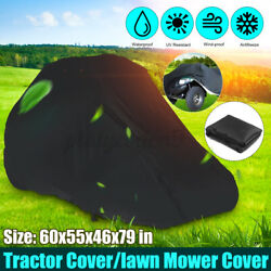 79 in Car Lawn Mower Tractor Cover Heavy Duty Waterproof UV Protection Larg $27.99