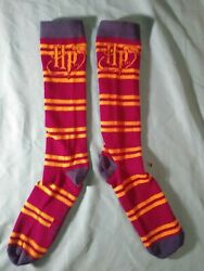 Harry Potter Hogwarts Novelty Socks *women size 5 9* BRAND NEW no tags $3.36