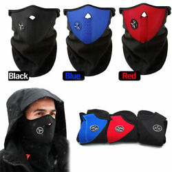Winter Motorcycle Cycling Neoprene Windproof Half Face Mask For Cold Weather US $4.98