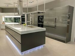 Arclinea floor sample Contemporary Italian kitchen high gloss lacquer $1.00