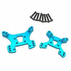Upgrade Mental Front amp; Rear Shock Tower w Screws for 1 14 Wltoys 144001 RC Kits $9.87