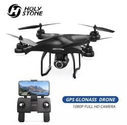 Holy Stone HS120D GPS Drone FPV 1080p HD Camera Profissional $159.99